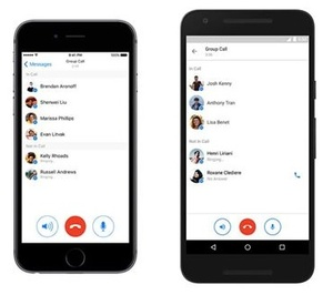 Facebook adds group voice calls to popular Messenger app
