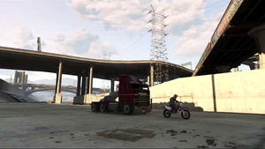 VIDEO: Terminator 2 truck chase on GTA V
