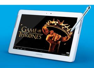 Samsung Note 10.1:n ostajat saavat HBO:ta kaupan päälle