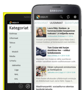 AfterDawn's own news aggregator app, HIGH.FI for Android, updated to new version