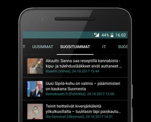 """Viime viikon suosituimmat uutiset Suomessa: Nykäsen kuolema, Suomalaiskeksintö valloittaa maailmaa, S-ryhmän vaiettu """"kalleutus"""", myymälävarkaat keksivät uuden kohteen, ..."""