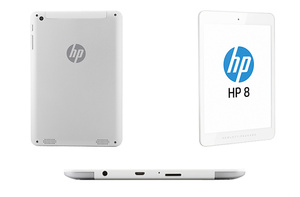 HP unveils nearly 8-inch Android tablet