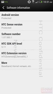 Is this the rumored HTC M7 with Sense 5?