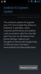 Google Play Editions of HTC One and Galaxy S4 get Android 4.3 update