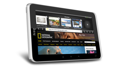 HTC Flyer tablet has 1.5Ghz processor, Android 2.4