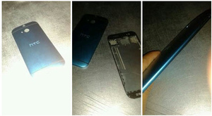 Photos allegedly show back of HTC One successor, codenamed 'M8'