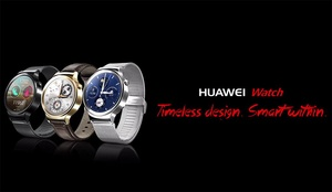 Huawei has a new luxury Android Wear smartwatch coming, and it looks great