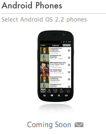 Hulu Plus headed to 'select' Android 2.2 devices