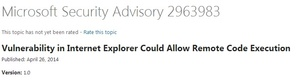 Microsoft updates Windows XP for critical Internet Explorer bug despite end of life