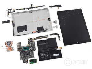 Microsoft Surface Pro 3 is impossible to repair, so seriously don't break it