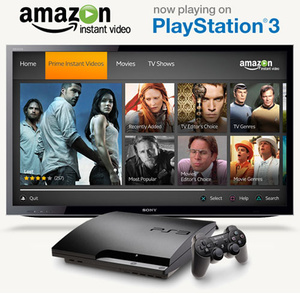 Amazon Prime Instant Video added to the PS3