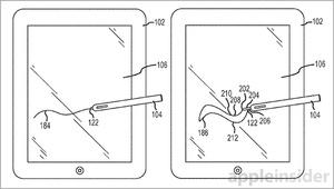 Applen patentissa erikoinen ja uudenlainen stylus-kynä