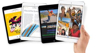 Apple løftede også sløret for den første iPad mini med Retina-skærm