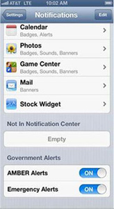AT&T adds Wireless Emergency Alerts to iPhones
