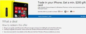 Rumor confirmed: Microsoft will buy back your iPhone for at least $200