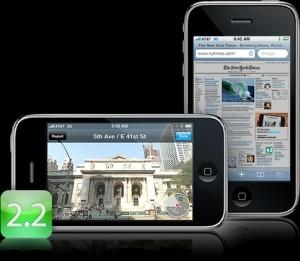 iPhonen 2.2-päivitys ladattavissa, paljon pieniä muutoksia