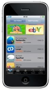 Applen App Storesta jo yli 2 miljardia sovelluslatausta
