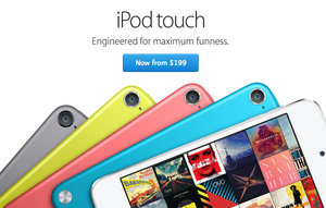 Apple launches new iPod Touch lineup starting at $199