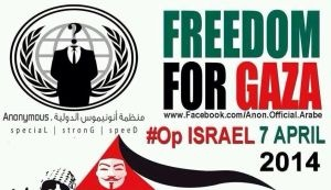 Israel sees a new cyberattack by pro-Palestinian 'Anonymous' hacktivists