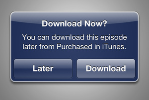iTunes adds ability to buy now and download later for video files