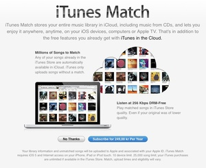 iTunes Match expands to Nordic nations