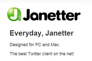 Janetter de vervanger voor TweetDeck?