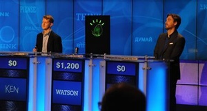Watson beats puny humans in last day of 'Jeopardy' event