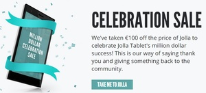 Jolla drops price of signature phone following success of Jolla Tablet