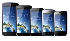 Nyt smartphonefirma lancerer syv forskellige Android-telefoner med skærmgaranti