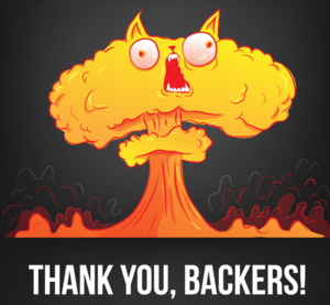 A card game about exploding cats made by Xbox game designers is now the most backed ever on Kickstarter