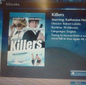 Saudi airline caught playing pirated copy of movie