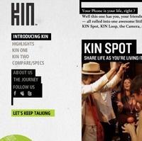 Microsoft prices KIN phones