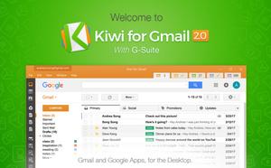 Gmail en Google Apps als één handige applicatie met Kiwi for Gmail