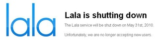 Apple to shut down Lala music service