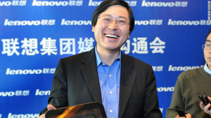 Lenovo CEO gives away his bonus check to employees