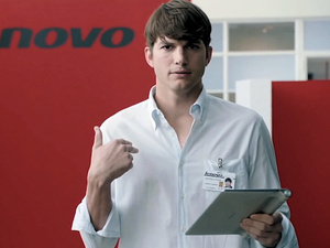Ashton Kutcher designing line of Lenovo smartphones