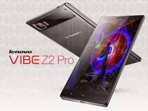 Lenovo Vibe Z2 Pro has metal frame, 6-inch QHD display