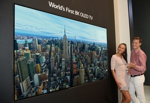 World's first 8K OLED TV shown off by LG at IFA
