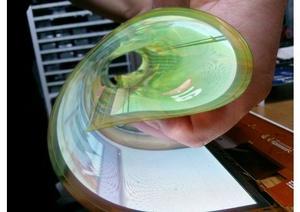 New LG flexible OLED can roll up like a newspaper