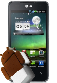 LG Optimus 2X Android ICS update officieel bevestigd
