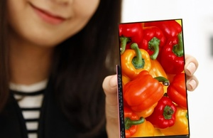 LG's latest smartphone display says goodbye to bezels