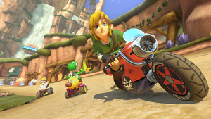 Link, Tanooki Mario, Cat Peach and Animal Crossing villager to be new characters in Mario Kart 8