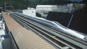 Magneeteilla leijuva juna saavutti uuden nopeusennätyksen Japanissa