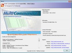 Multi Commander, functierijke en gratis bestandsmanager.
