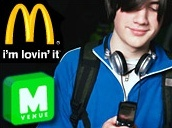 McDonalds join digital content market with m-Venue