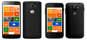 Micromax unveils first Windows Phone devices
