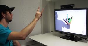 Microsoft vei Kinectin uudelle tasolle: Videolla reaaliaikainen käden ja sormien tunnistus