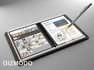 Gizmodo: Unohtakaa Applen tablet, tässä tulee Microsoft Courier