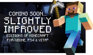 Minecraft headed to Xbox One, PS4, Vita this summer