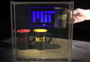 MIT esittelee videolla edullista, nanopartikkeleista koostuvaa HUD-näyttöä